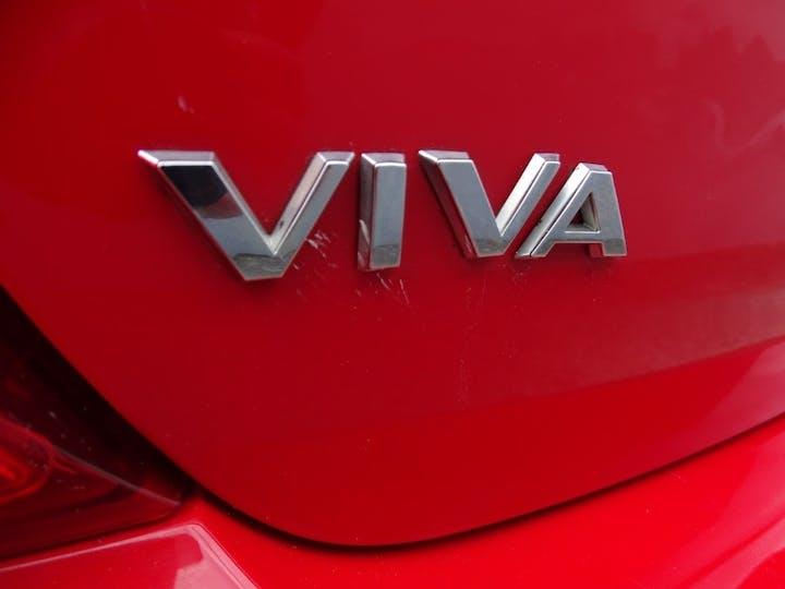 Red Vauxhall Viva Sl 2017
