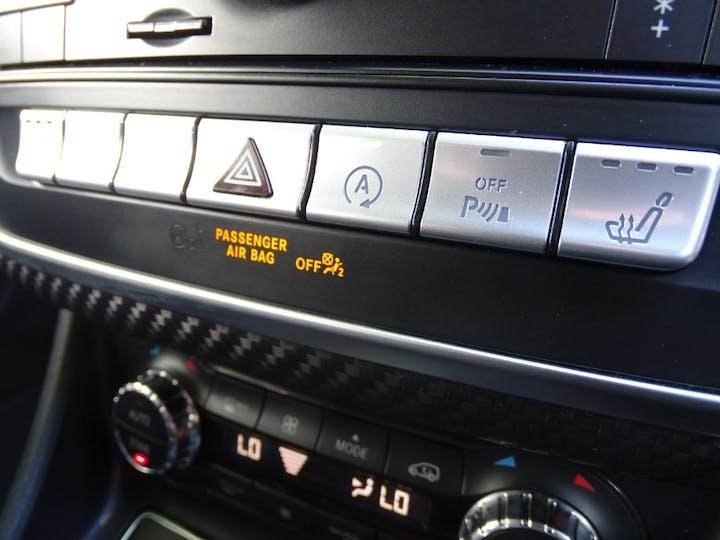 Silver Mercedes-Benz A-class A 180 D AMG Line Executive 2016