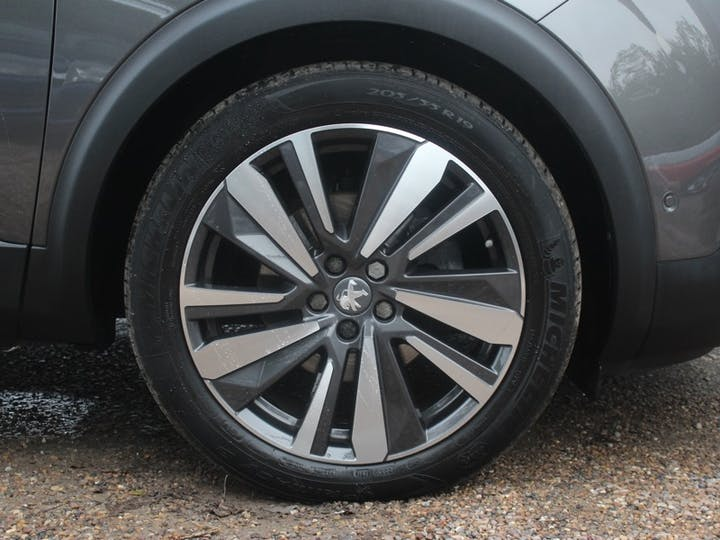 Grey Peugeot 5008 Bluehdi S/S GT 2019