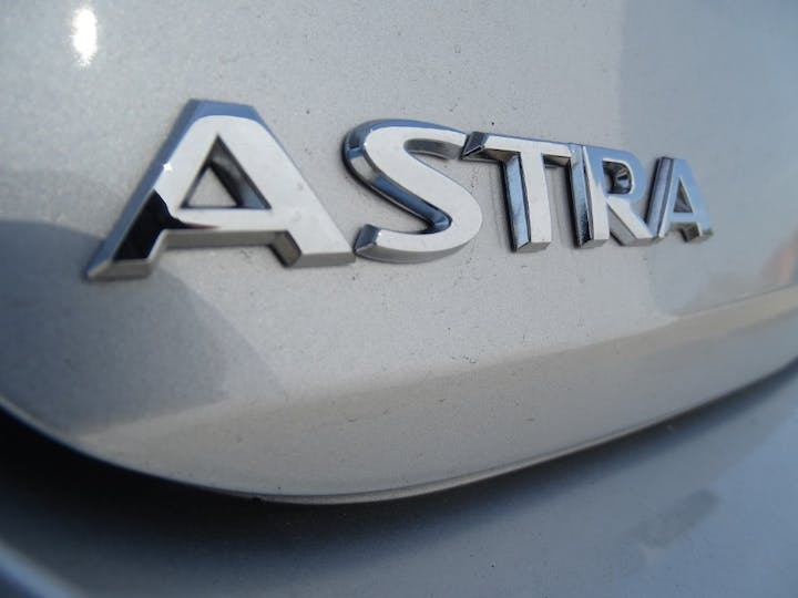 Silver Vauxhall Astra Business Edition Nav 2021