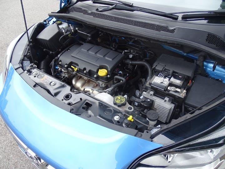 Blue Vauxhall Corsa Energy 2019
