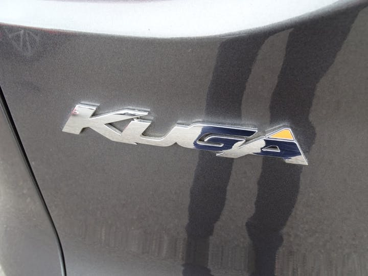 Grey Ford Kuga Titanium X Sport TDCi 2015