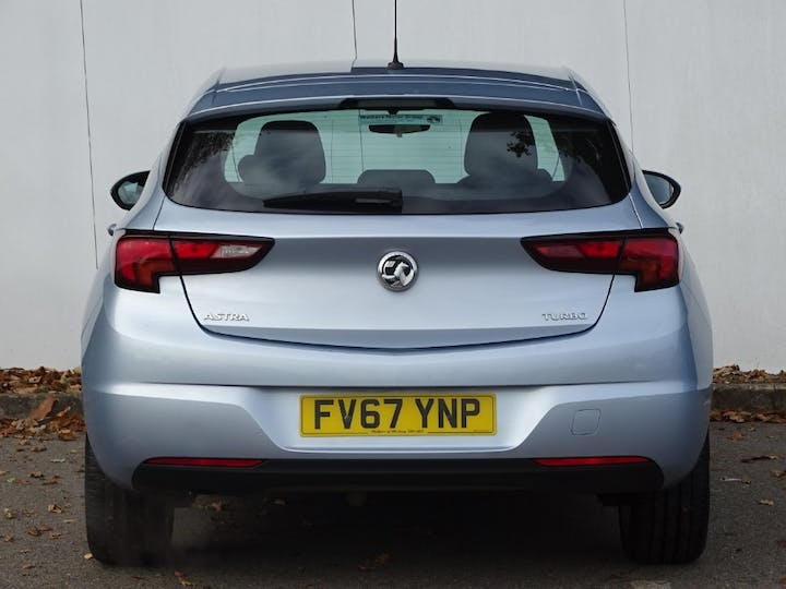 Silver Vauxhall Astra Energy 2018