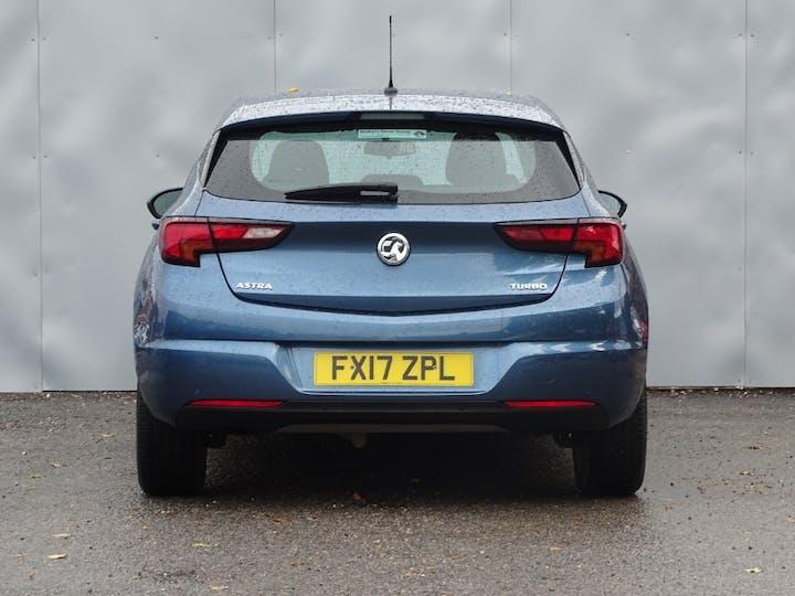 Blue Vauxhall Astra Energy 2017