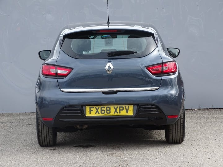 Grey Renault Clio Play Tce 2018
