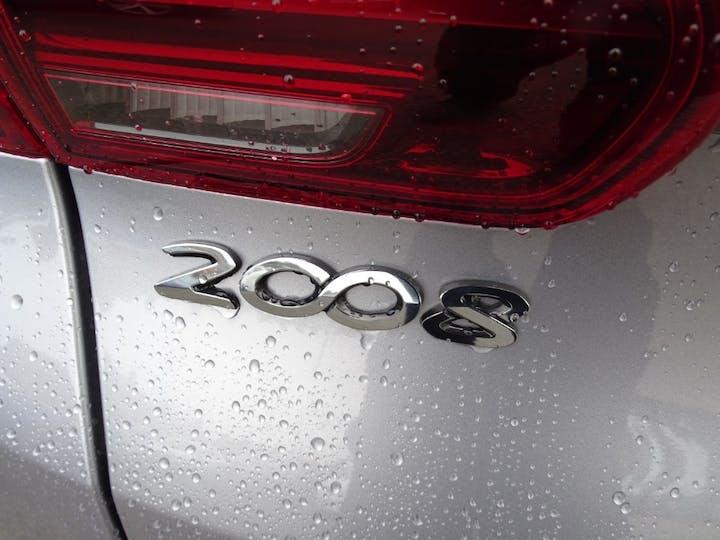 Grey Peugeot 2008 Puretech S/S GT Line 2017