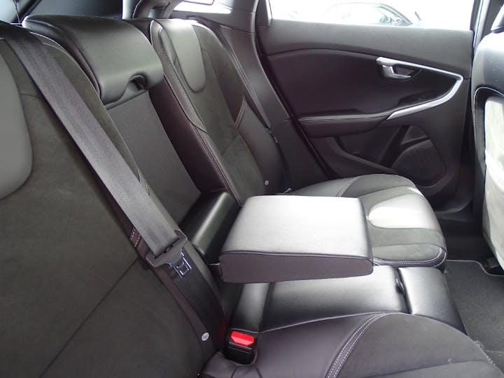 Grey Volvo V40 T3 R-design Nav Plus 2018