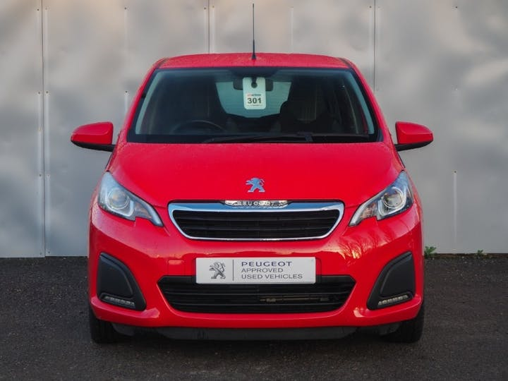 Red Peugeot 108 Active 2018