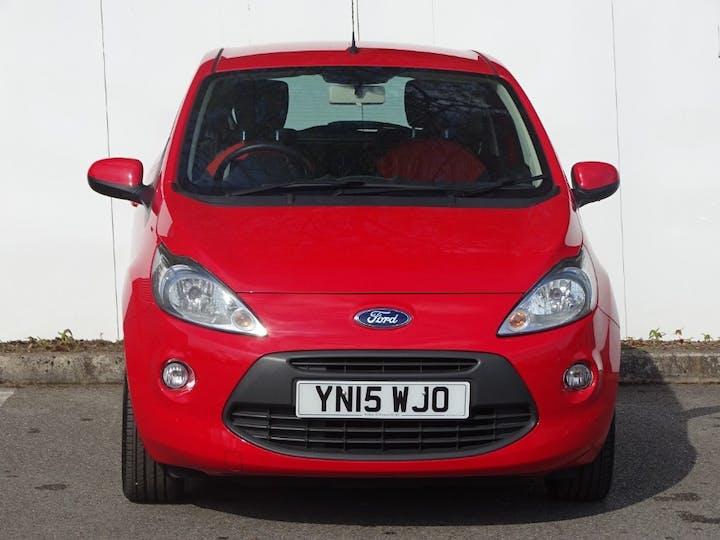 Red Ford Ka Zetec 2015