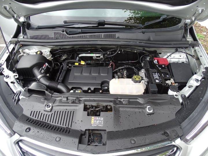 Silver Vauxhall Mokka X Design Nav Ecotec S/S 2018