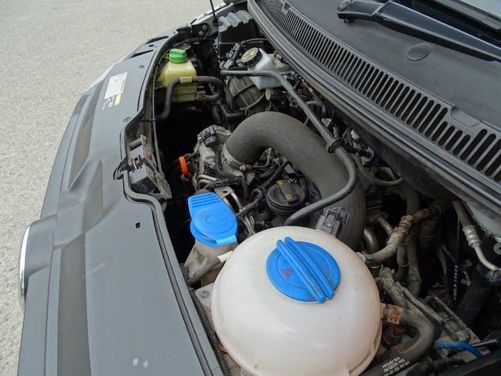 Silver Volkswagen Transporter T32 TDI Kombi 4motion 2012