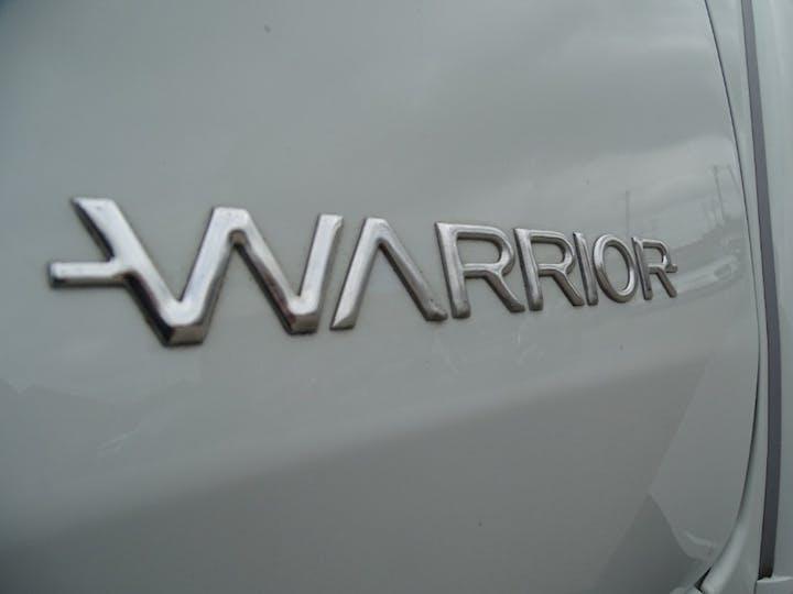 White Mitsubishi L200 Di-d 4wd Warrior Dcb 2019