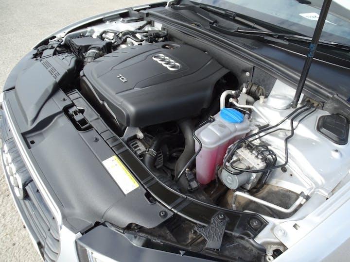 Silver Audi A5 TDI S Line 2012