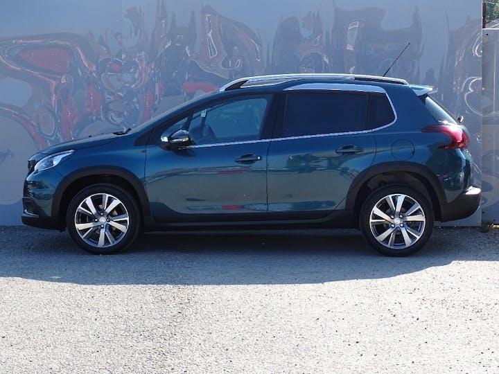 Green Peugeot 2008 Blue HDi Allure Premium 2018