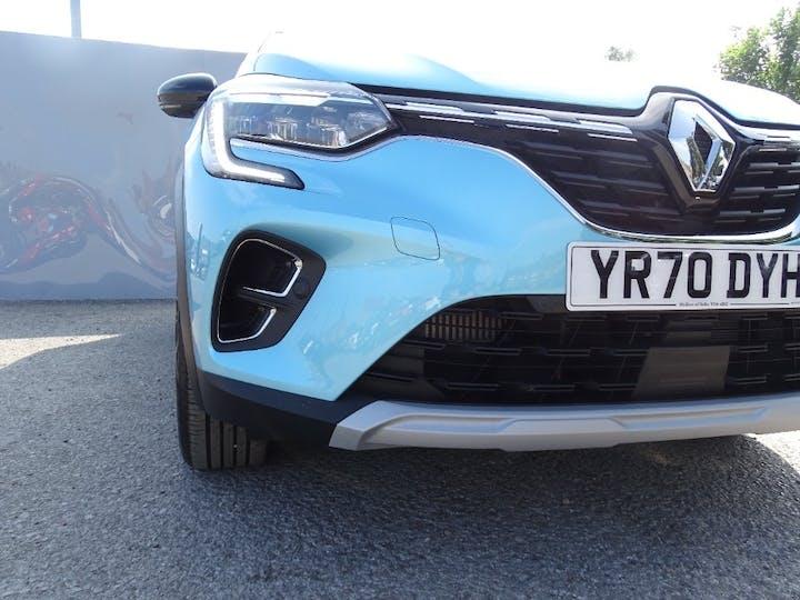 Blue Renault Captur S Edition Tce 2020