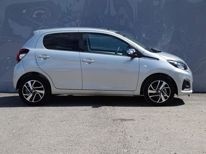 Grey Peugeot 108 Collection 2021
